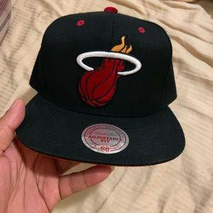 Mitchell and Ness Miami Heat hat